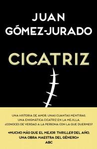 Cicatriz. La última novela de Juan Gómez-Jurado